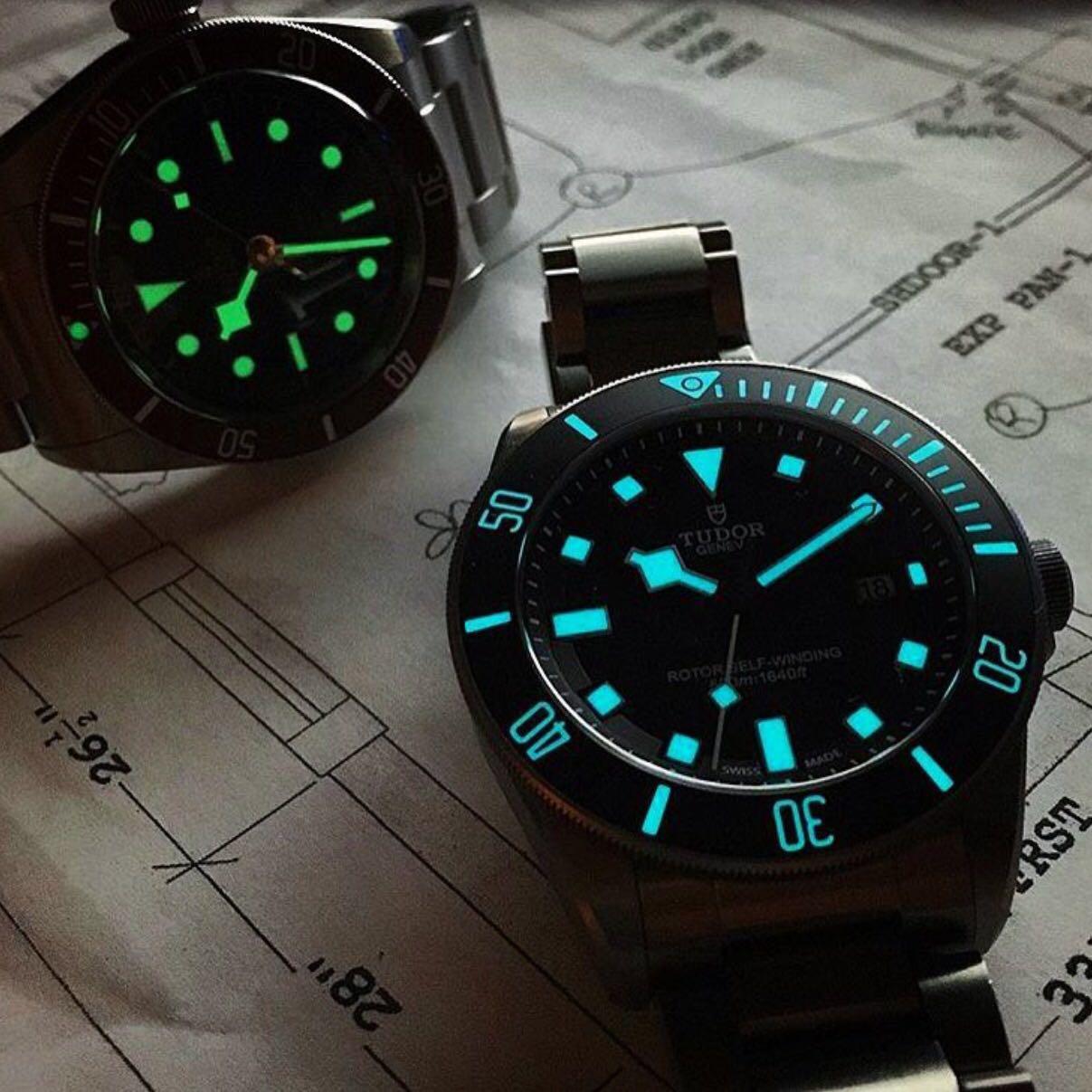 【基础】手表夜光有多少种?有何区别?